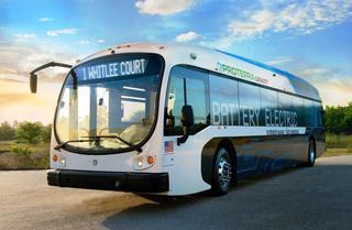 970 км на электротяге: в США представлен автобус за $800 000